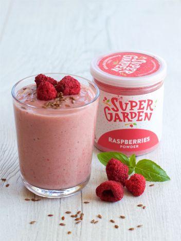 Freeze dried (lyophilized) raspberries