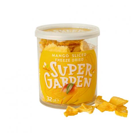 Freeze dried (lyophilized) mango
