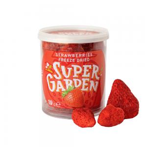 Freeze dried (lyophilized) strawberries