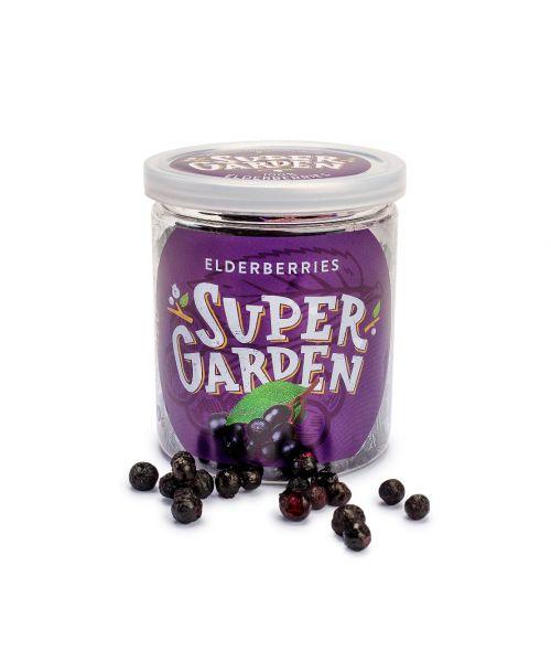 Supergarden-džiovintos  šaltyje šeivamedžio uogos