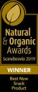 Best New Snack Product. Natural & Organic Awards Scandinavia 2019